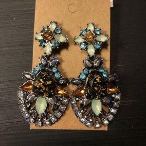 Rhinestone Statement Earrings